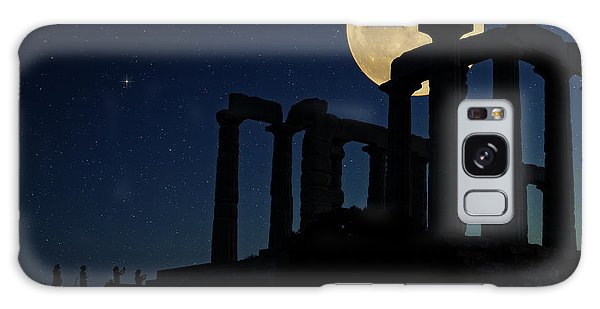 Temple Of Poseidon  Galaxy Case