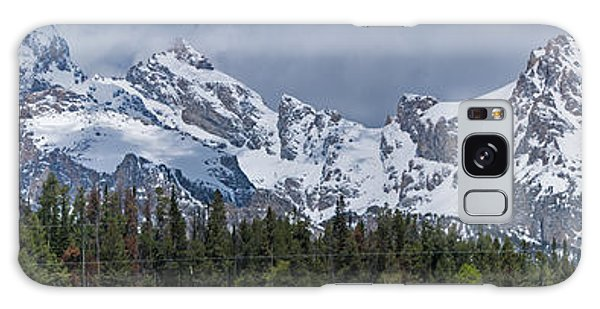 Large Tetons Panorama Galaxy Case