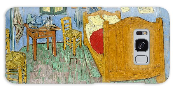 Art Institute Galaxy Case - The Bedroom by Vincent van Gogh