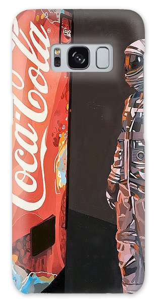 Science Fiction Galaxy Case - The Coke Machine by Scott Listfield