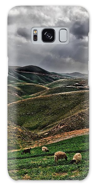 The Lord Is My Shepherd Judean Hills Israel Galaxy Case