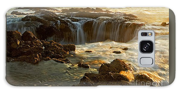 Thor's Well Galaxy Case by Nick  Boren