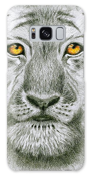 Tiger Tiger Burning Bright Galaxy Case