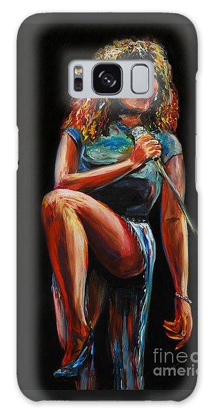 Tina Turner Galaxy Case by Nancy Bradley