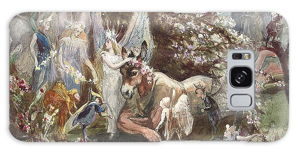 Titania And Bottom Galaxy Case by John Anster Fitzgerald