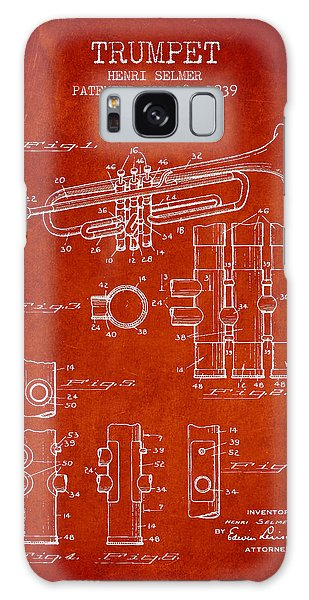 Trumpet Patent From 1939 - Red Galaxy Case