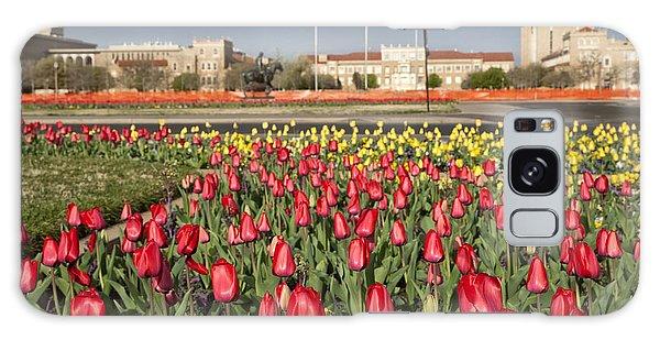 Tulips At Texas Tech University Galaxy Case