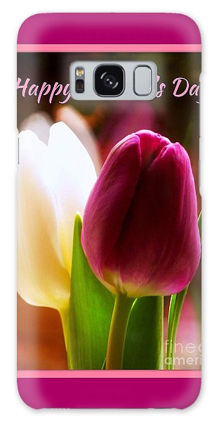 2 Tulips For Mother's Day Galaxy Case