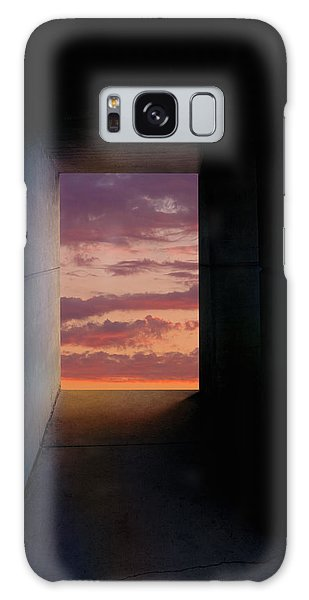 Tunnel With Light Galaxy Case by Melinda Fawver