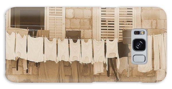 Tuscan Laundry Galaxy Case by Ramona Johnston