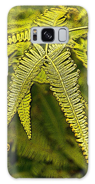 Uluhe Fern Galaxy Case