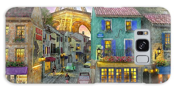 Horizontal Galaxy Case - The Venetian Sunset by MGL Meiklejohn Graphics Licensing