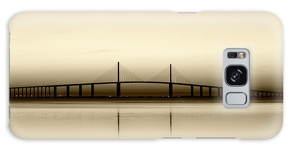 Tint Galaxy Case - Usa, Florida, Sunshine Skyway Bridge by Adam Jones