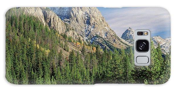 Teton Range Galaxy Case - Usa, Wyoming, Grand Teton National by Scott T. Smith