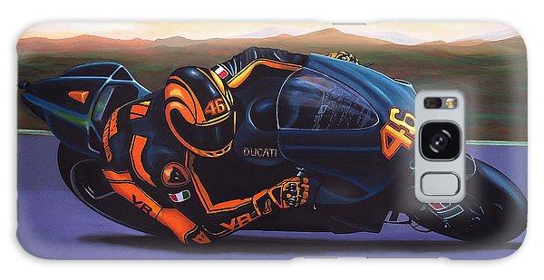 Realistic Galaxy Case - Valentino Rossi On Ducati by Paul Meijering