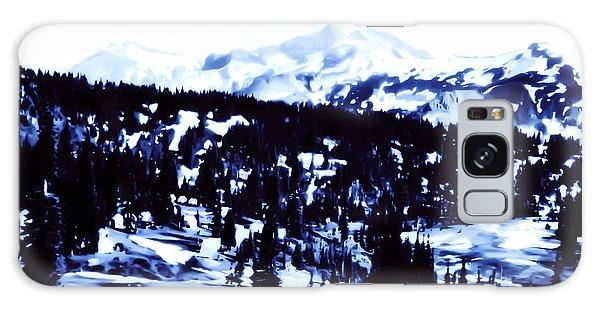 Vintage Mount Rainier Forest Early 1900 Era... Galaxy Case by Eddie Eastwood