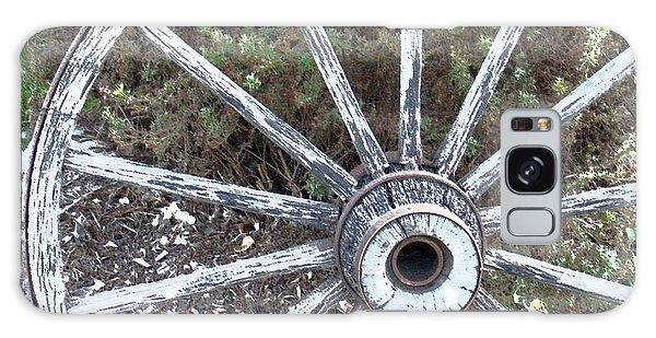 Wagon Wheel Study 2 Galaxy Case by Sylvia Thornton