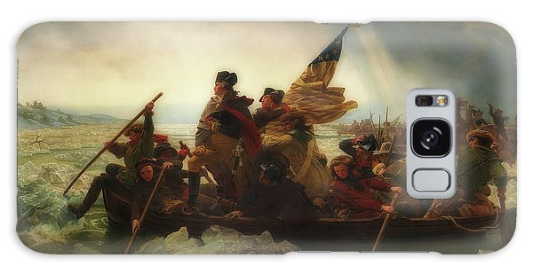 Washington Crossing The Delaware  Galaxy Case by Emanuel Leutze