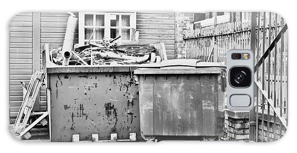 Rubbish Bin Galaxy Case - Waste Skip by Tom Gowanlock