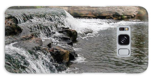Spring Creek Waterfall Galaxy Case