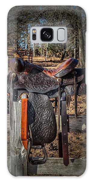 Western Saddle Galaxy Case