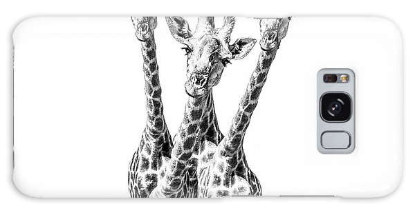 Giraffe Galaxy Case - What Are You Looking At?  by Diane Diederich