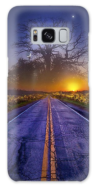 Picnic Table Galaxy Case - What Dreams May Come by Phil Koch