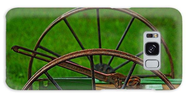 Wheels Of Time Galaxy Case by Rowana Ray