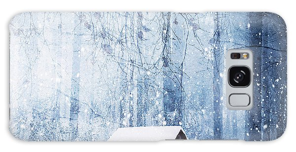Cottage Galaxy Case - Winter by Bess Hamiti