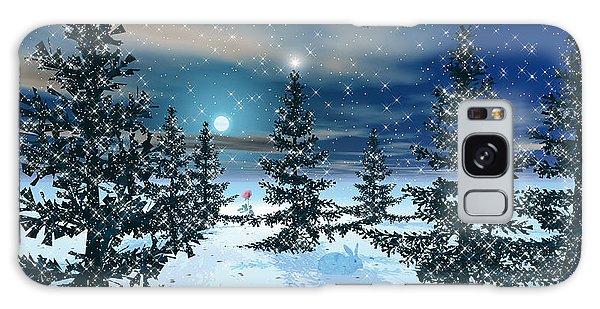 Winter Scenery Galaxy Case