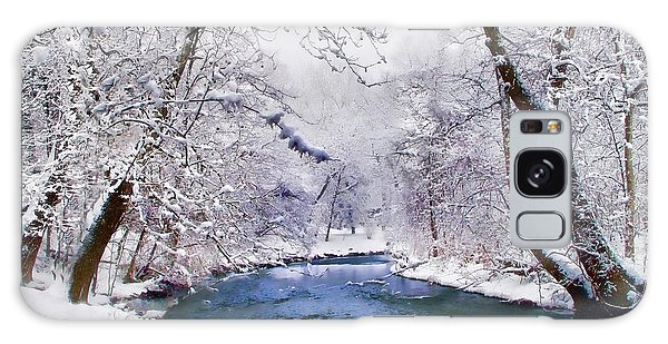Winter White Galaxy Case by Jessica Jenney