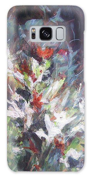 Woodland Bouquet Galaxy Case by Mary Lynne Powers