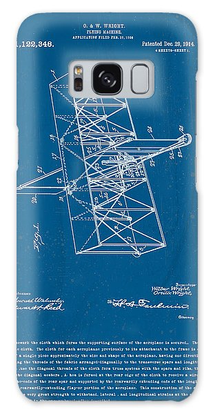 Wright Brothers Flying Machine Patent Galaxy Case