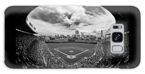 Wrigley Field  Galaxy Case by Greg Wyatt