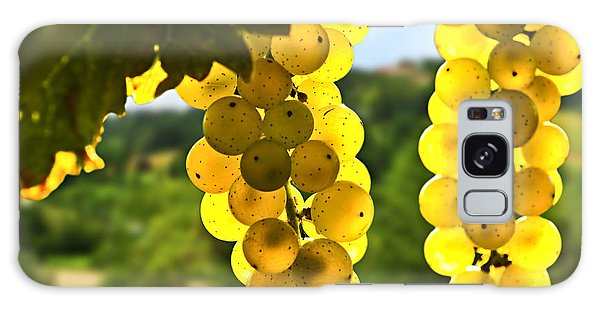 Yellow Grapes Galaxy Case