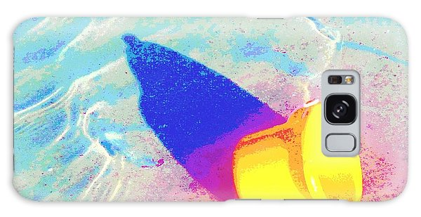 Yellow Pail Galaxy Case by Valerie Reeves