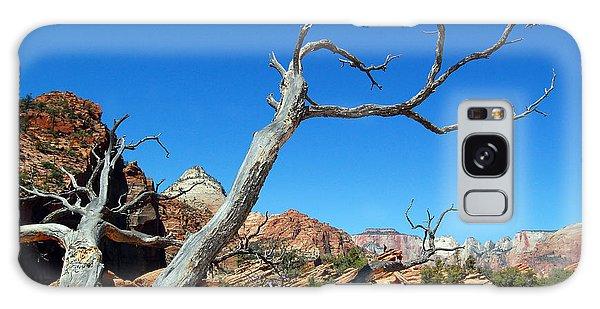 Zion Reaching Tree Galaxy Case by Debra Thompson