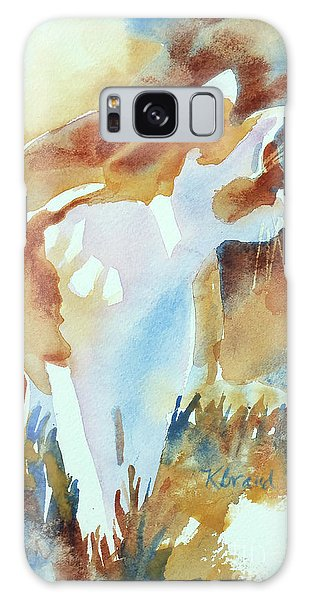 Calico Cat Galaxy Case - 2004 Cat On The Prowl  I  by Kathy Braud