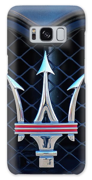 2005 Maserati Gt Coupe Corsa Emblem Galaxy Case by Jill Reger