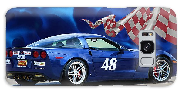 2007 Z06 Corvette Galaxy Case by Sylvia Thornton