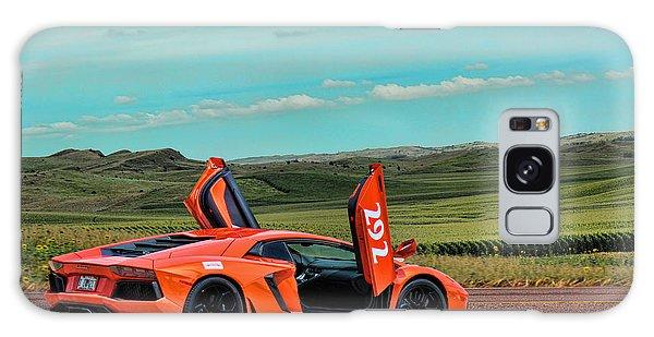 2012 Lamborghini Aventador Galaxy Case by Sylvia Thornton