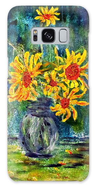 2012 Sunflowers 4 Galaxy Case by Denny Morreale