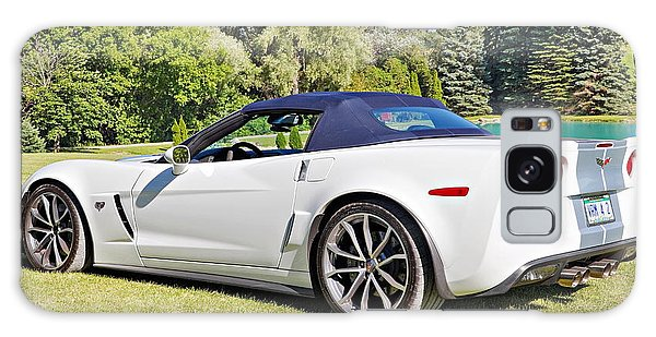2013 Corvette 427 Sixtieth Anniversary Special Striped Roof Up Galaxy Case