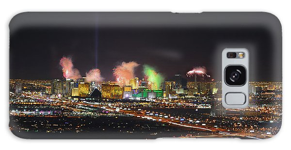 2015 Las Vegas New Years Fireworks Galaxy Case