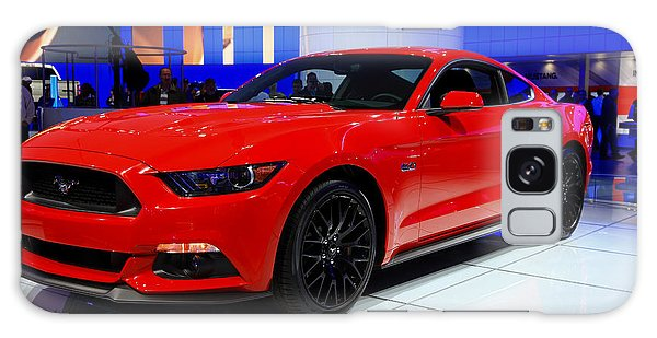 2015 Mustang In Red Galaxy Case