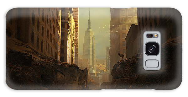 Building Galaxy Case - 2146 by Michal Karcz