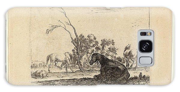 Pasture Galaxy Case - Stefano Della Bella Italian, 1610-1664 by Litz Collection