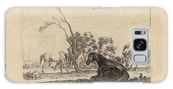 Pasture Galaxy Case - Stefano Della Bella Italian, 1610 - 1664 by Quint Lox