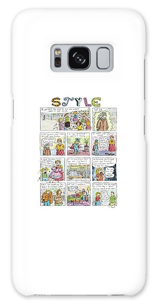 Style Galaxy Case - New Yorker March 16th, 2009 by Roz Chast