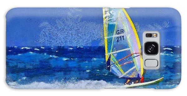 Windsurfing Galaxy Case